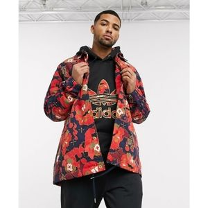 Adidas Tiger Jacket Flowers All Over